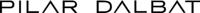 PILAR DALBAT- Logo revectorizado